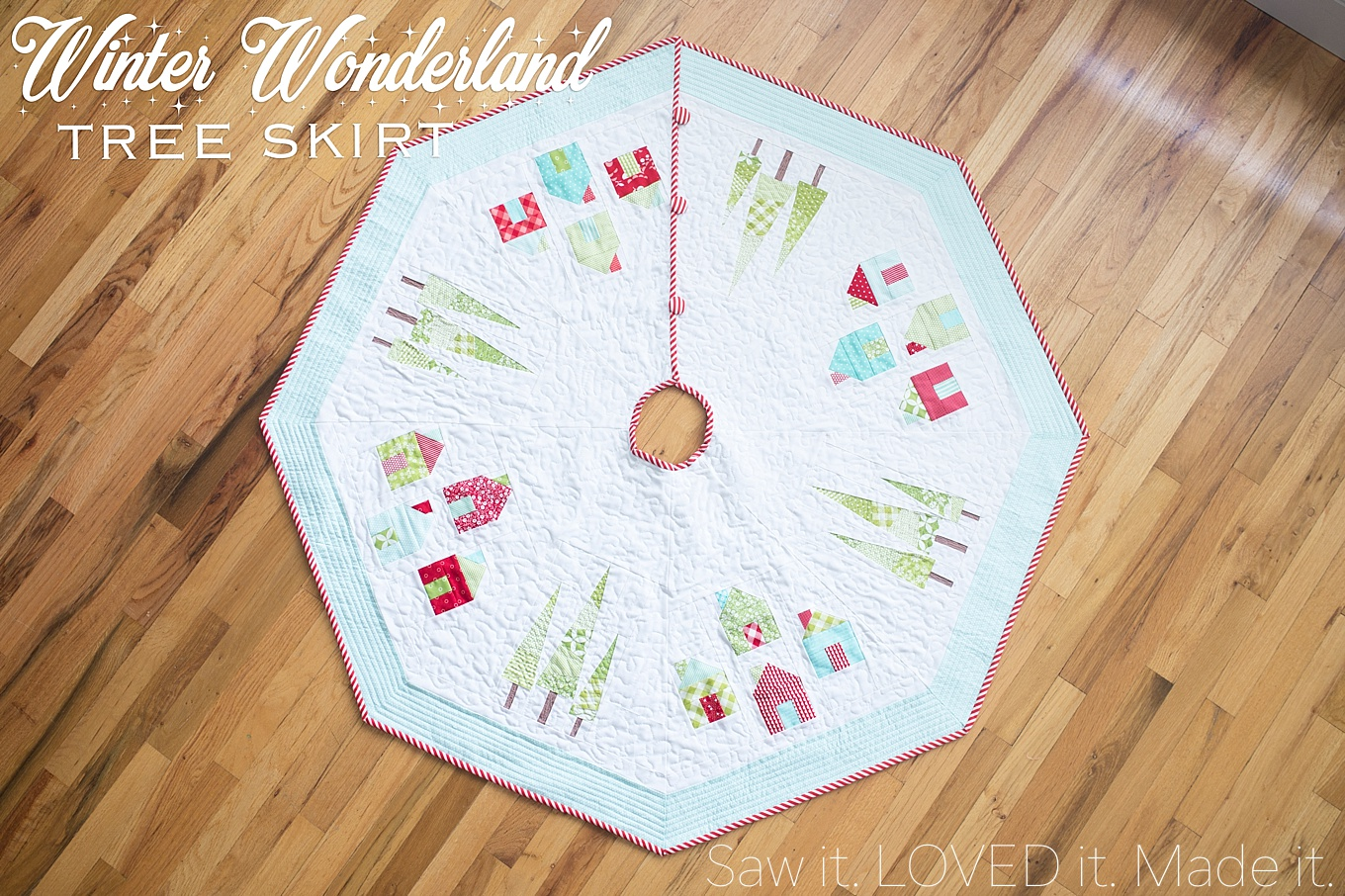 Faux fur tree skirts for christmas guide patterns