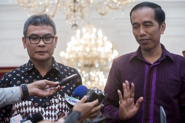 Jokowi Tak Akan Instruksikan Polisi untuk Buru dan Tangkap Setya Novanto
