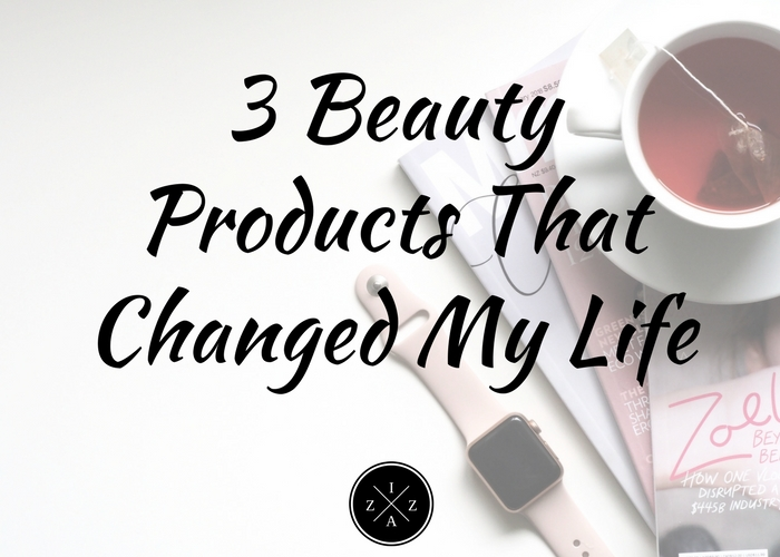 e9e96fda8b3 Welcome to another beauty post from yours truly. Today we'll be talking  about the five beauty products that changed ...