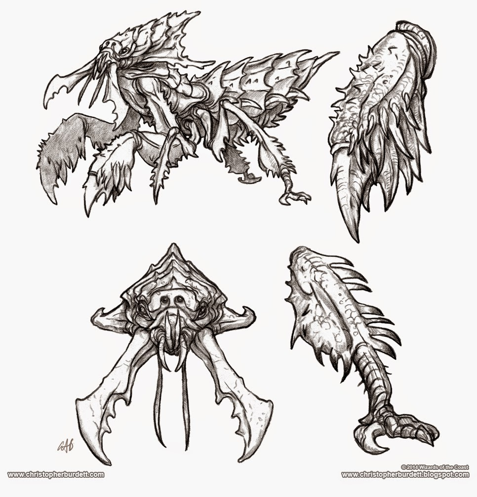 Aarakocra 5th Edition Monster Manual by christopherburdett on