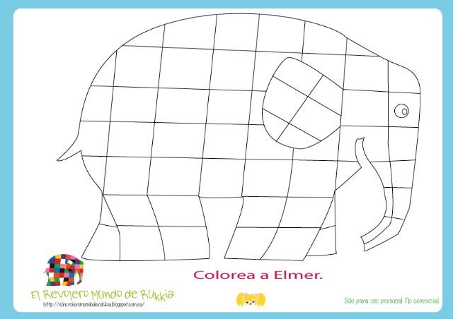 coloring.elmer.elephant