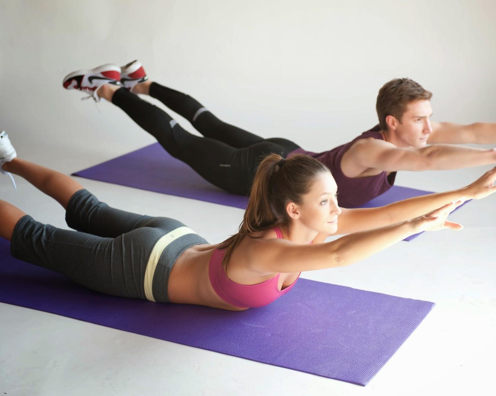 Pilates, un ejercicio muy recomendable
