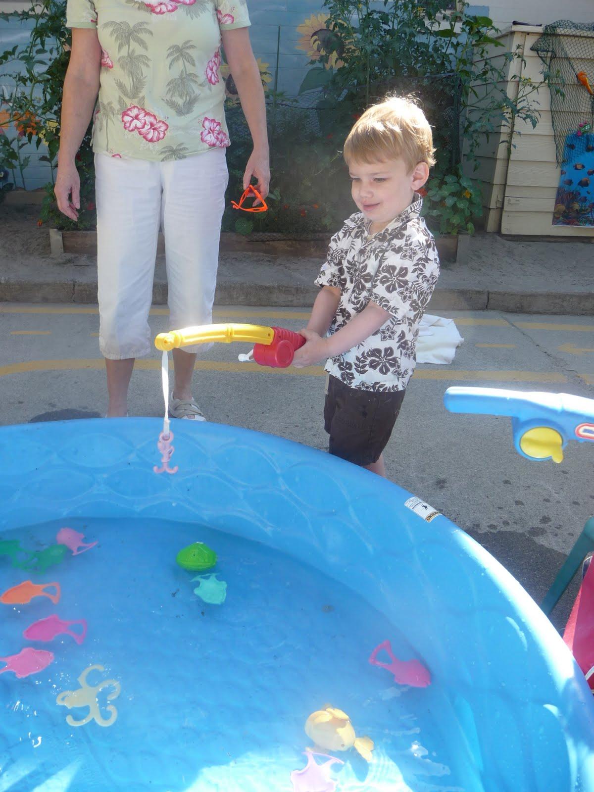 Tanyon Miller Preschool Luau