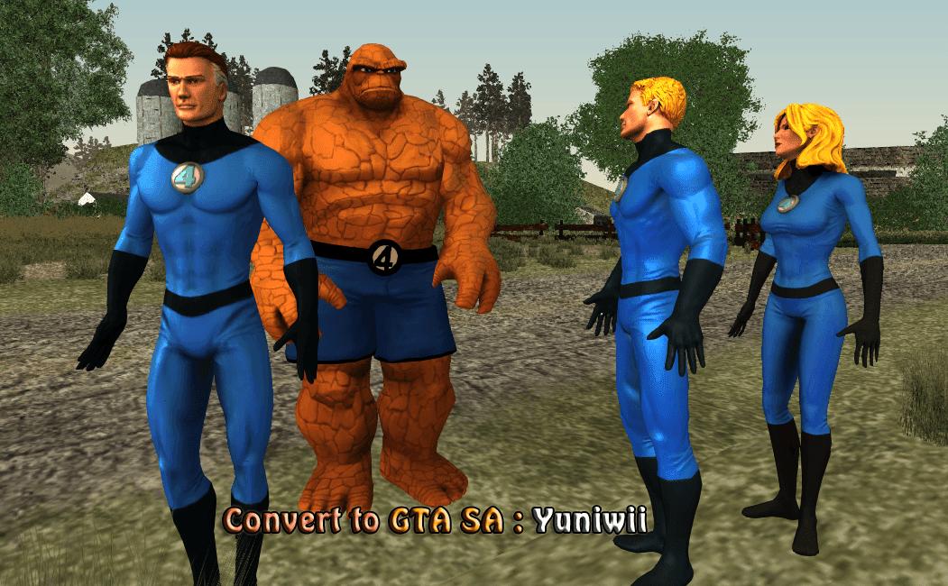 Fantastic Four GTA San Andreas - GTA SA modding,GTA V, GTA