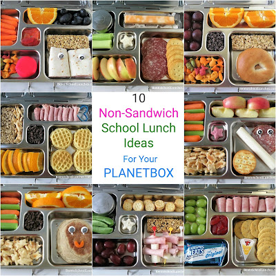 10 Non-Sandwich School Lunch Ideas For Your Planetbox