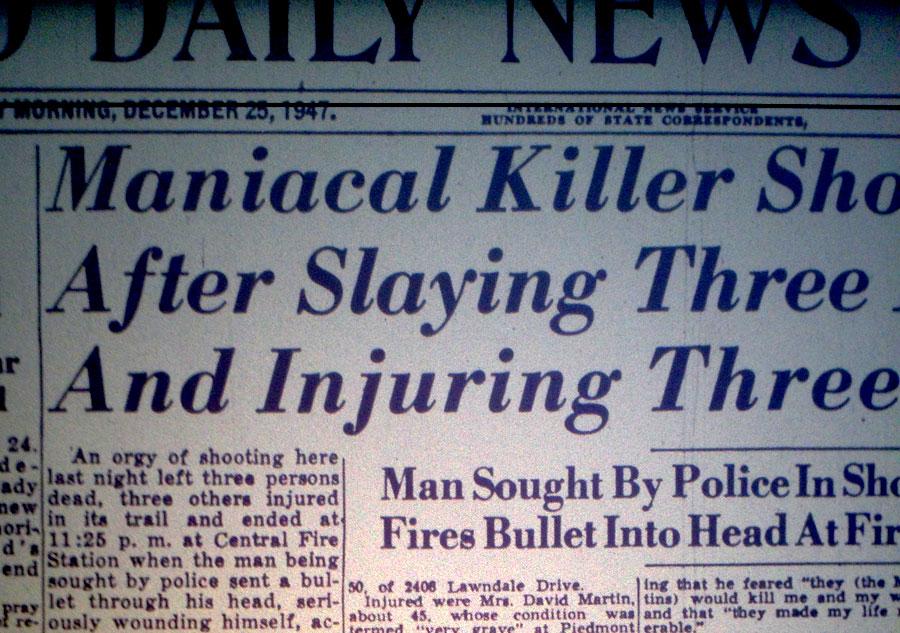 TVparty!: Christmas Eve 1947 Massacre