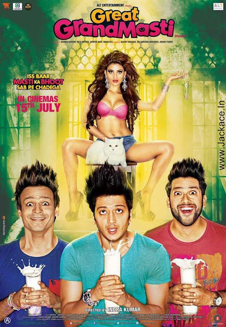 Great Grand Masti Day Wise Box Office Collection
