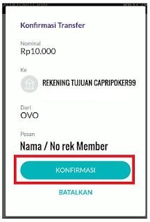 Cara Deposit Poker Online Via OVO 6, deposit via ovo, deposit poker online , capripoker99
