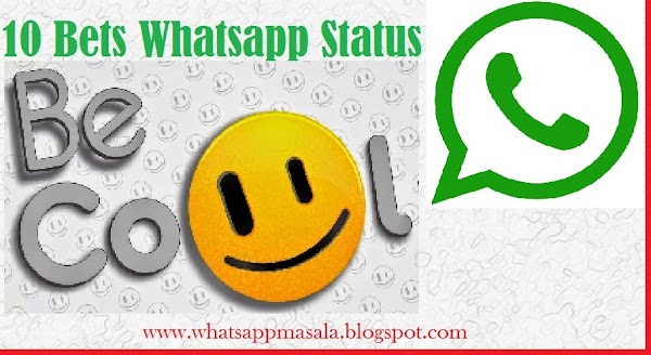 Top 10 Whats App Status In English Of 2018