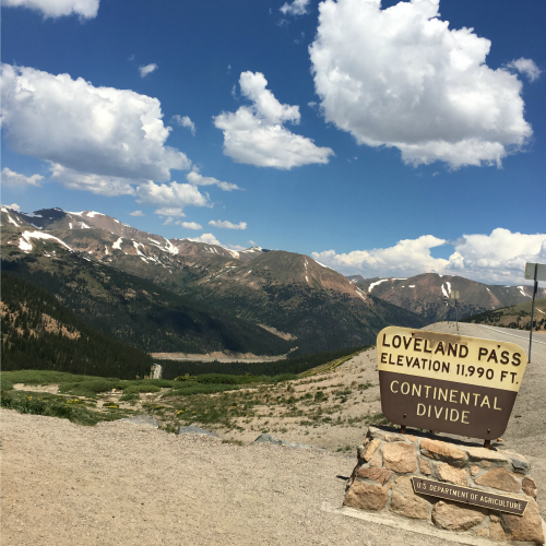 Loveland Pass, Continental Divide, Colorado