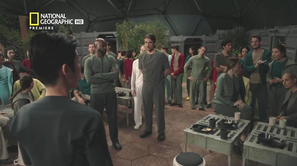 National Geographic MARS - episode 5, season 2 (scientist meeting)