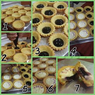 Resep Blueberry Cheese Tart Enak ala Bunda inuk dwi kaeksi handayni
