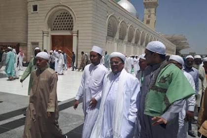 Di Arab Saudi, Habib Rizieq Beken Dikenal sebagai Buronan Politik
