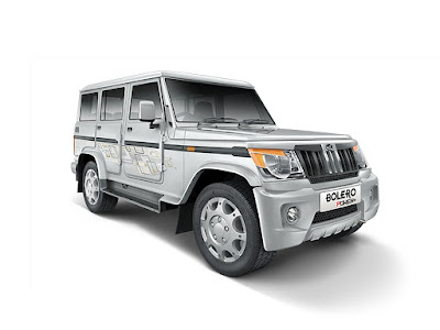 Mahindra Bolero Power Plus right side look
