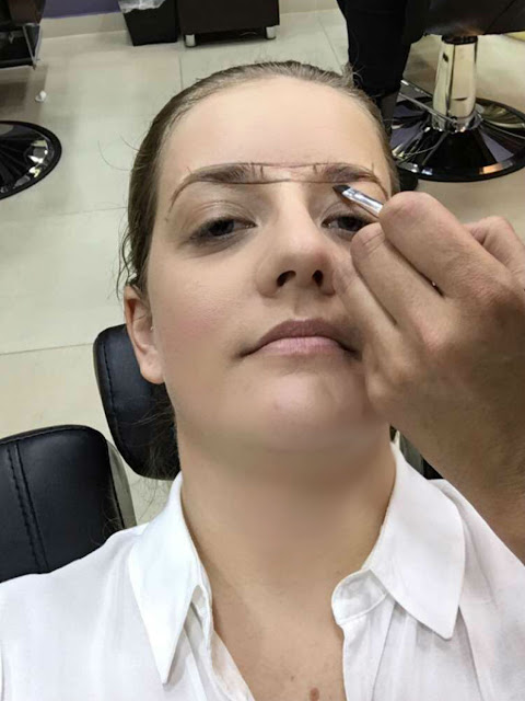 The Brow Bar, La Lucia || Eyebrow Measurement || Jane Wonder
