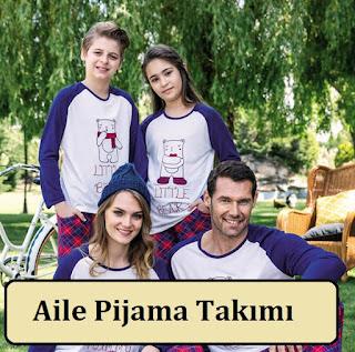 Aile Pijama Takımı