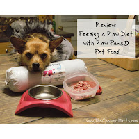 Review: Feeding a Raw Diet with Raw Paws Pet Food