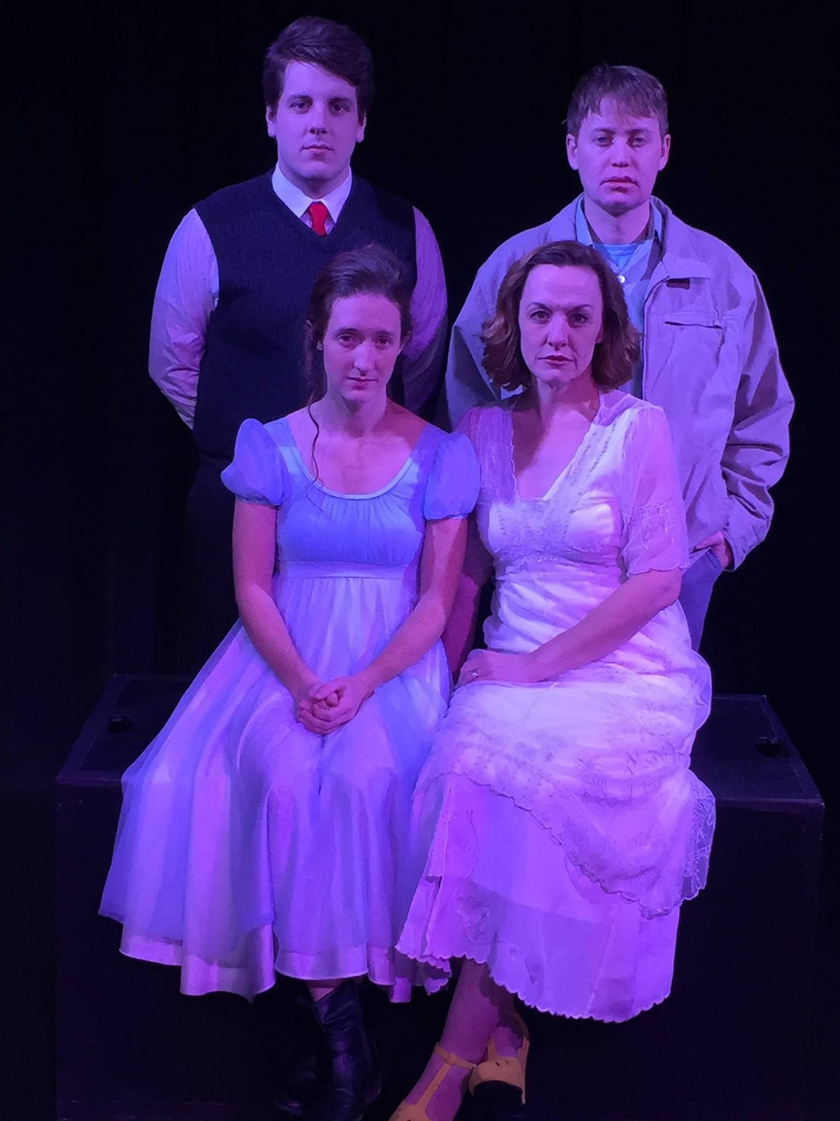 the character of jim and laura in the glass menagerie by tennessee williams Waterford twp, mich–tennessee williams' classic the glass menagerie, currently playing at waterford's monster box theatre,  read more.