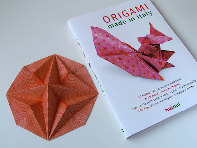 Stella in ottagono 2 e libro Origami made in Italy