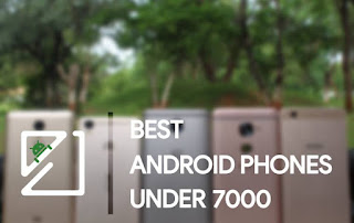 Top Five Phones Inwards The Arrive At Of 7,000₹