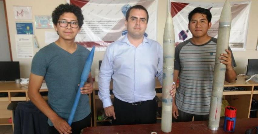 UNI espera autorización del Conida para lanzar cohete que busca controlar el clima - www.uni.edu.pe