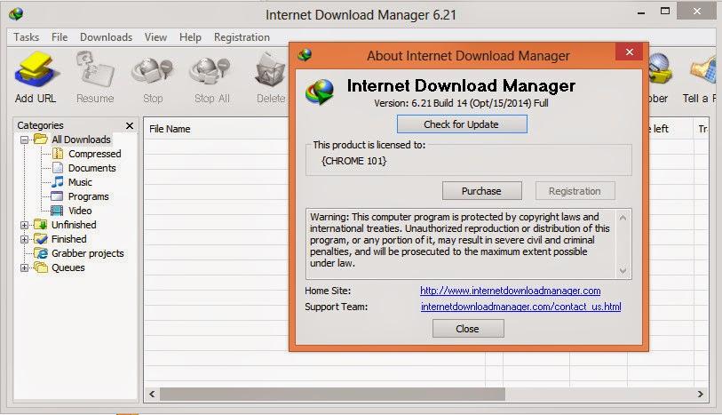 Internet Download Manager IDM 6.21 Build 14 Final incl Crack - AppKh - Download Free Software
