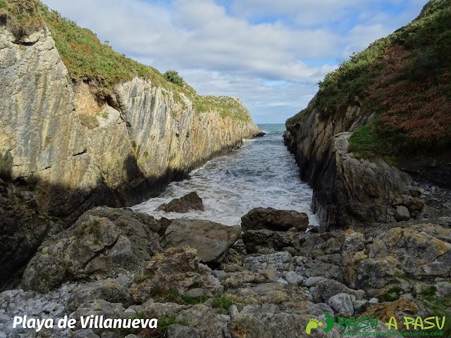 Playa de Villanueva, Llanes