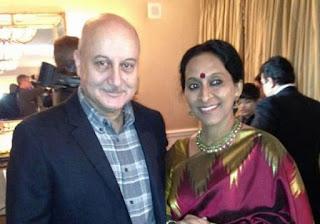 Anupam Kher At oscar