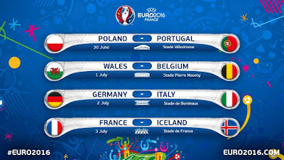 cuartos euro 2016