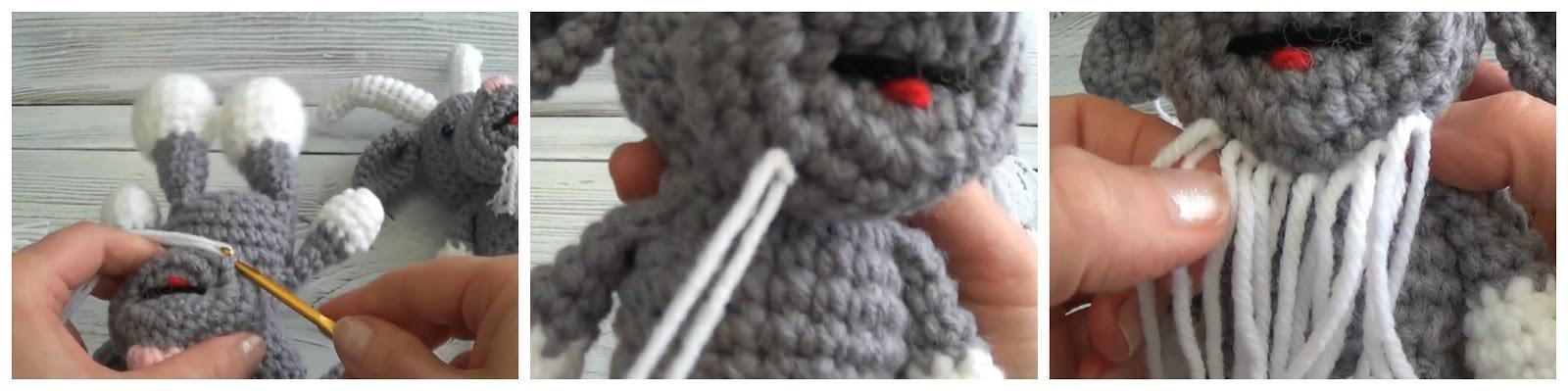 PDF Farmyard Goats amigurumi CROCHET PATTERN | Crochet amigurumi ... | 399x1600