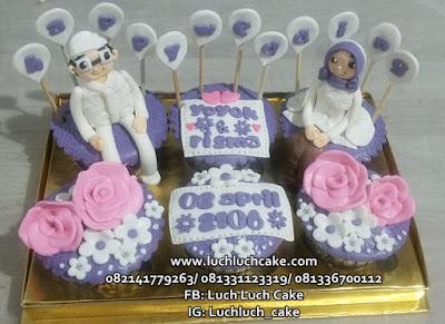 Cupcake Pernikahan - Wedding Gift Cupcake