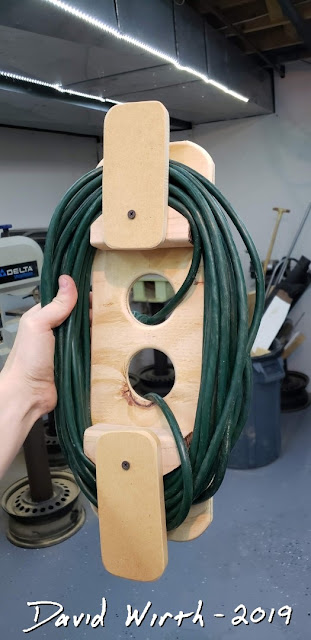 how to wrap extension cord
