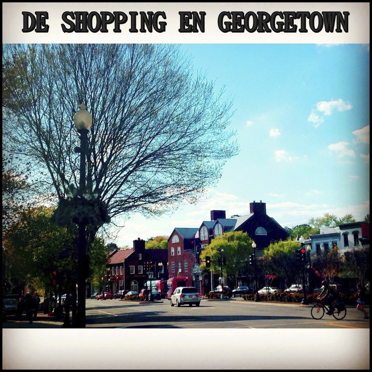 The shopping en Georgetown