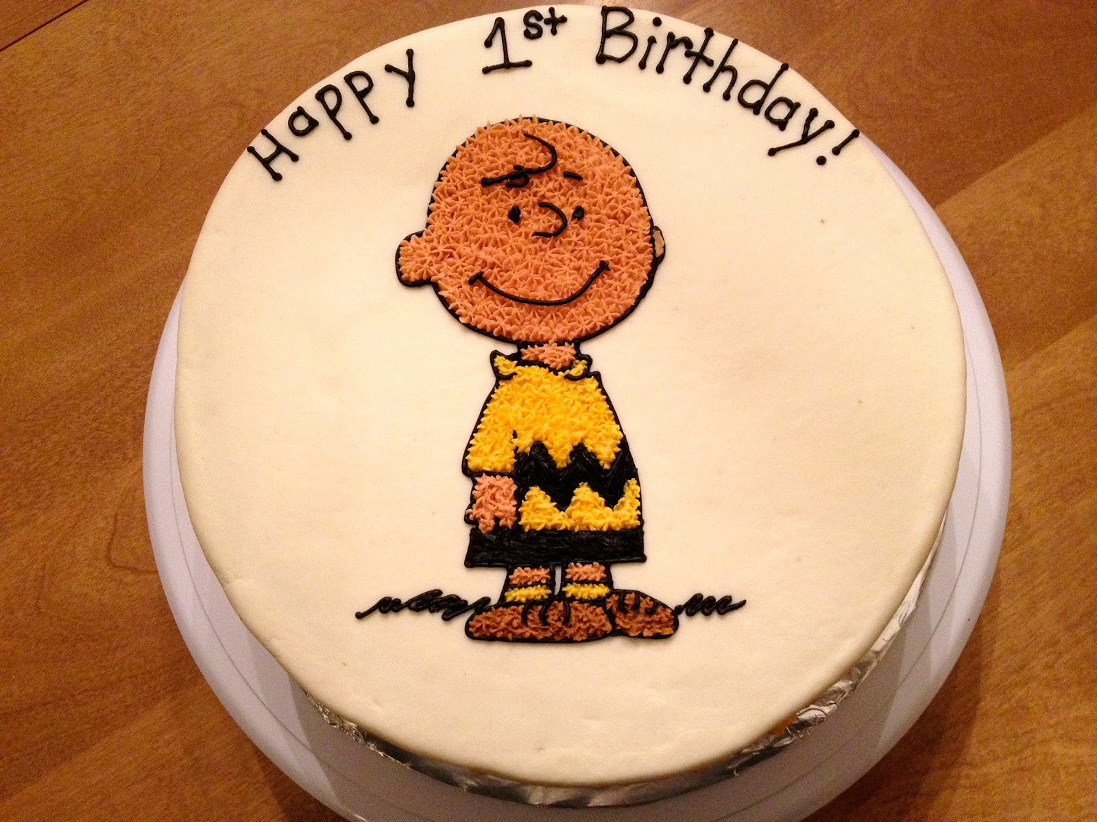 Toute Sweet Charlie Brown Cake