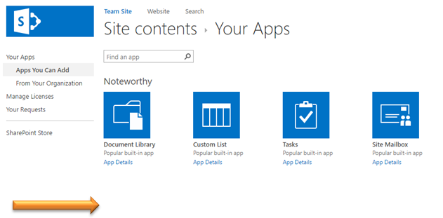 SharePoint 2013 Missing Store App List on Custom Master Page