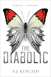 The Diabolic by S.J. Kincaid a YA sci-fi fantasy book as a standalone