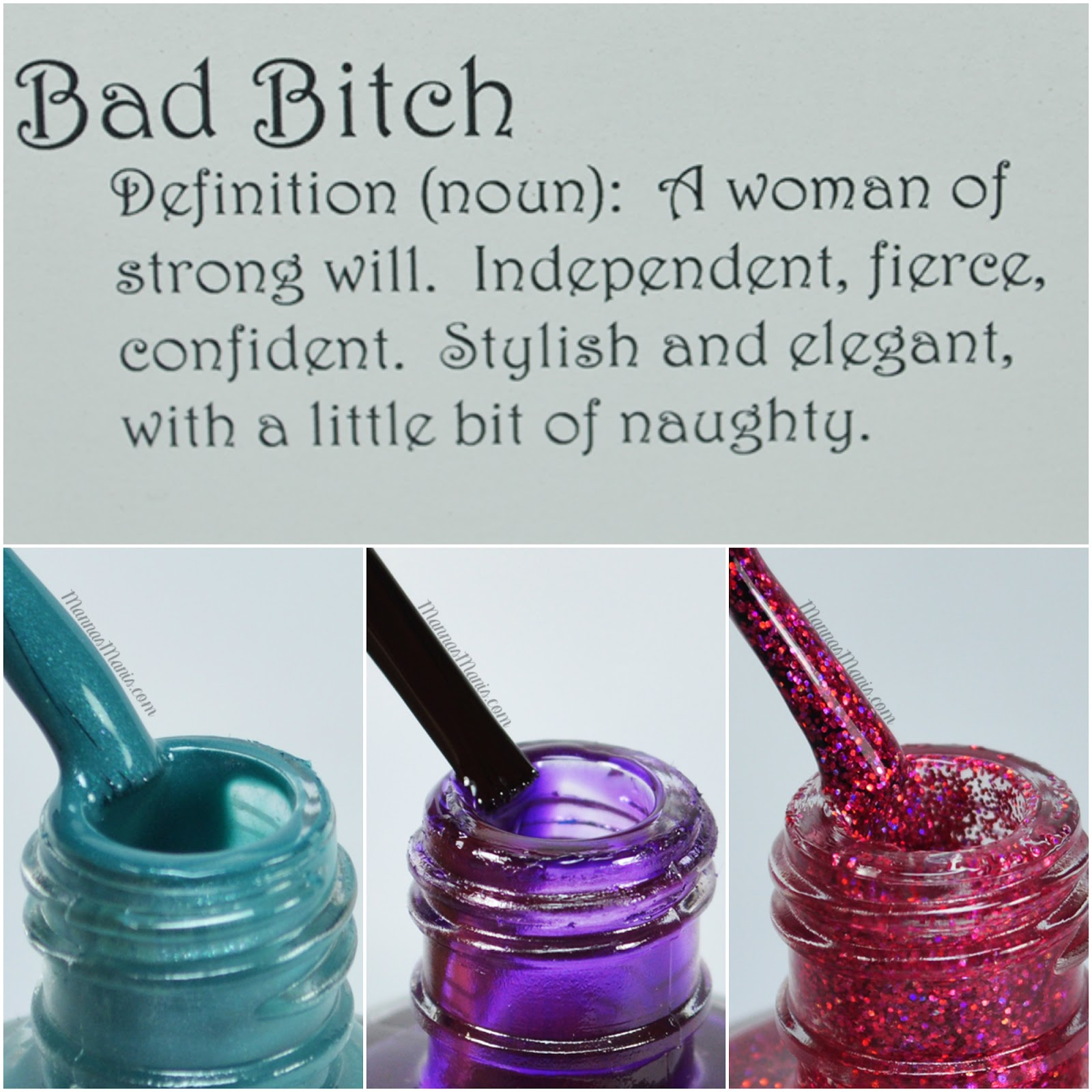 bad bitch polishes swatches