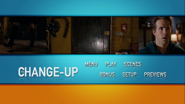 El Cambiazo [The Change Up] 2011 DVDR Menu Full Español Latino NTSC