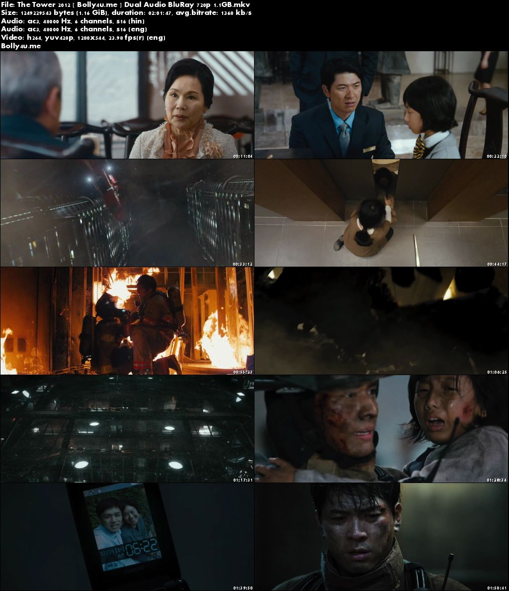 The Tower 2012 BluRay 350MB Hindi Dubbed Dual Audio 480p Download