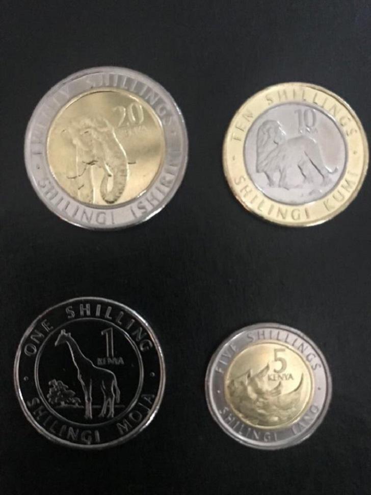 Kenya New Generation Coins