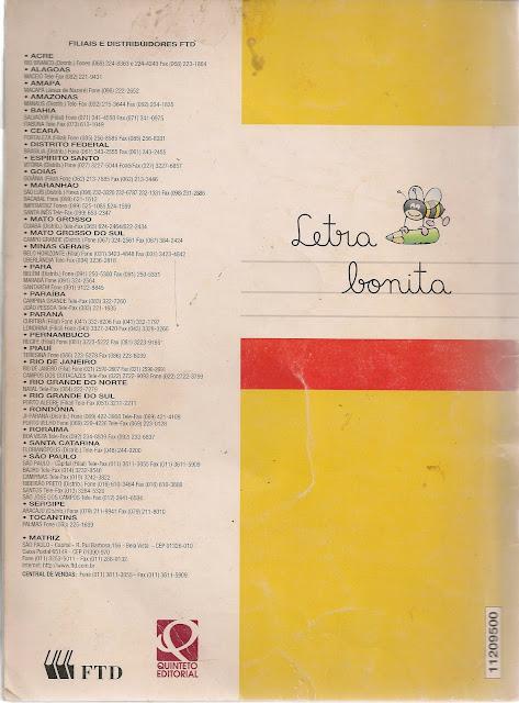 Caligrafia Letra Bonita