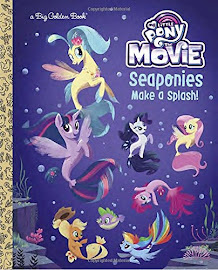 My Little Pony MLP The Movie: Seaponies Make a Splash Books