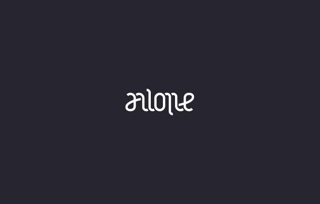 Pengertian Ambirgam, Inspirasi Desain Logo Ambigram - Alone Ambigram