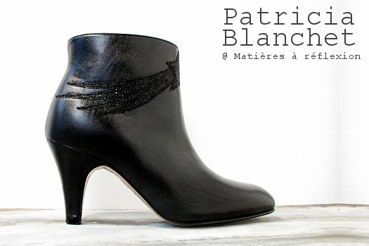 Patricia Blanchet boots Chinaski noires