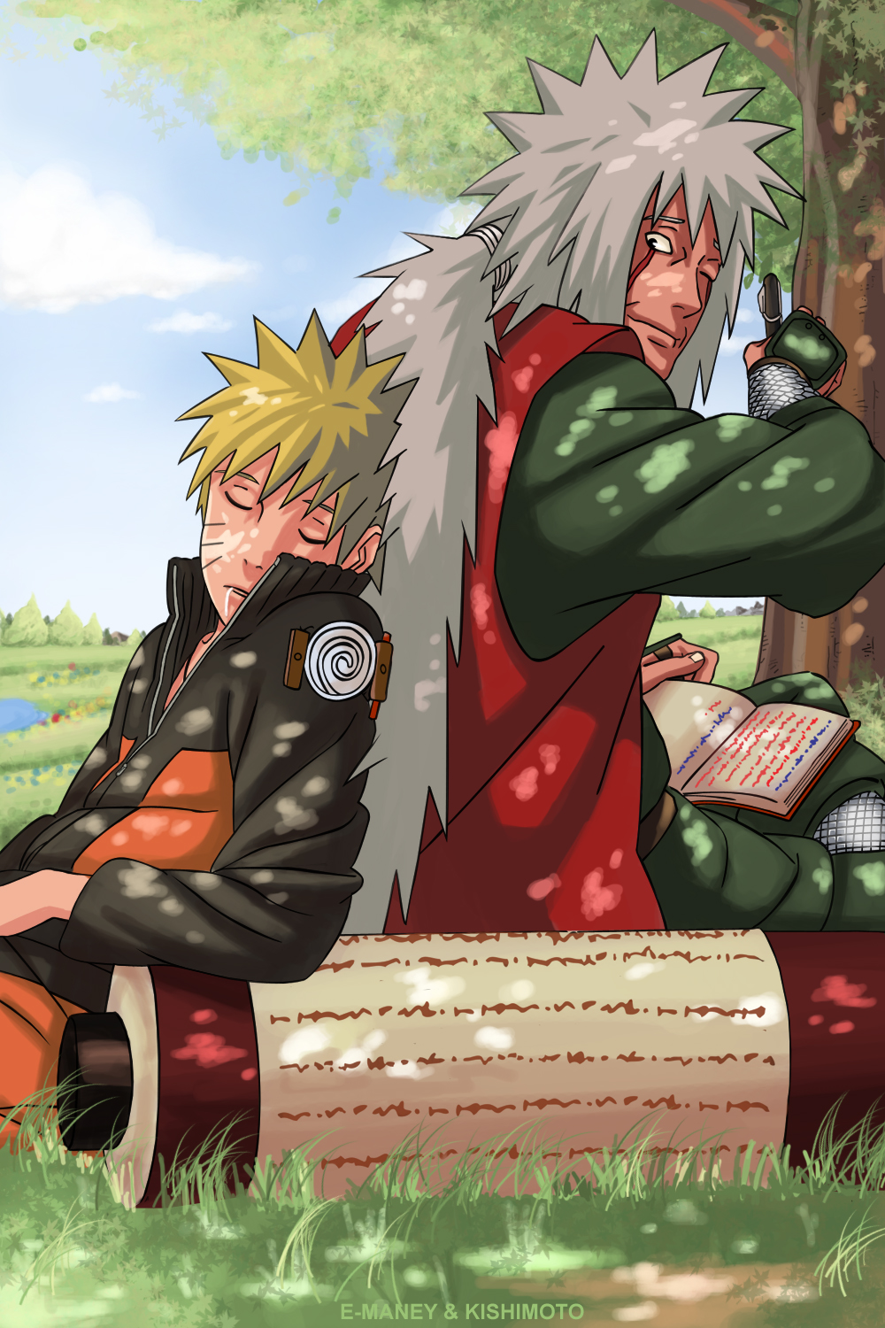 EverythingsNaruto A Tribute to the Naruto Fathers on