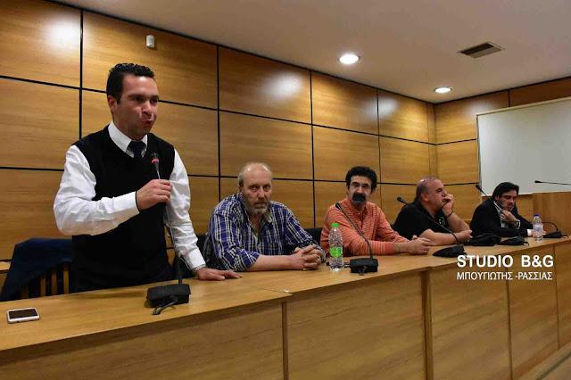 Η Ένωση Γραφείων Κηδειών Πελοποννήσου έκοψε βασιλόπιτα και ευχήθηκε καλές δουλειές  (video) DSC 4397PITA