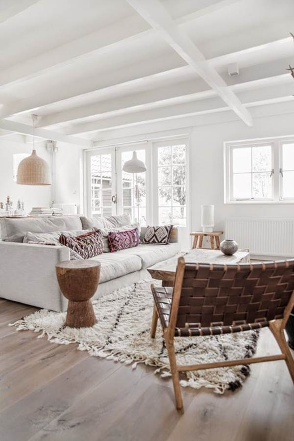 Ideas To Decorate In White And Wood 4