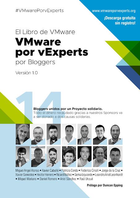 """Libro VMware en español: """"VMware por vExperts"""""""