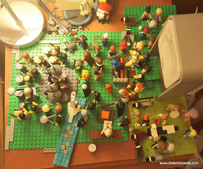 How to build a LEGO MOC 12 days of christmas