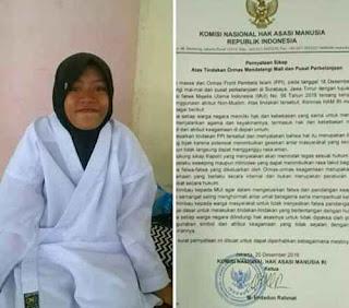 Demi Hijab, Anak SMP Ini Rela Didiskualifikasi Pertandingan Karate